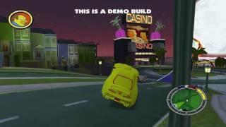The Simpsons Hit & Run - AOC Supra Preview