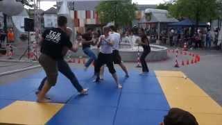 Vorführung Modern Jiu Jitsu