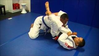 Gracie Barra Blacktown BJJ Technique – Triangle choke set up from de la riva guard by Chris Sales