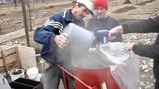 видео Оборудование для производства пенобетона