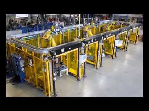 Multi-Tool Robotic System for Spot Welding Automotive Fixtures - BOS Innovations