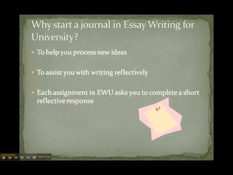 Starting a Reflective Journal