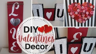 DIY Dollar Tree Valentines Decor | 3 Rustic Valentines Decor | Scrapwood and Dollar Tree Items