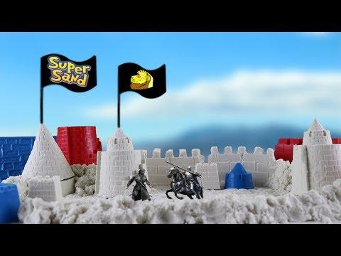 SUPER SAND - mein eigene Burg ist bereit für den Krieg!