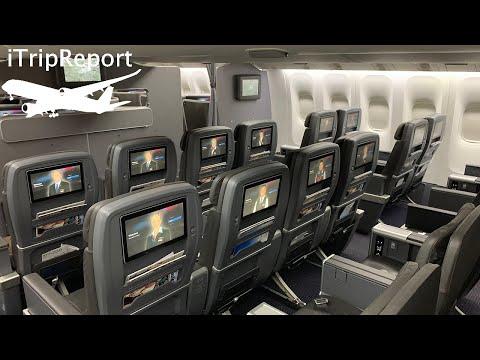 American 777-200ER Premium Economy Review