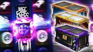 OPENING ROCKET LEAGUE CASES!?