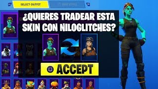 HOW TO TRADE SKINS WITH FRIENDS IN FORTNITE! (FORTNITE TRADEOS SYSTEM)