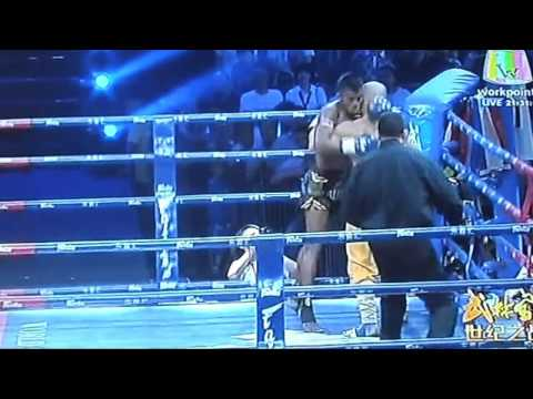 BUAKAW  Vs YI LONG лучшие моменты 2015 монах шаолиня на ринге против короля муай тайя