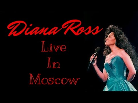 Diana Ross Live In Moscow, Russia 1995 (Full Concert)