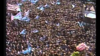 """Archivo histórico: Noticiero """"60 minutos"""" - 2 de Abril de 1982 - Guerra de Malvinas"""