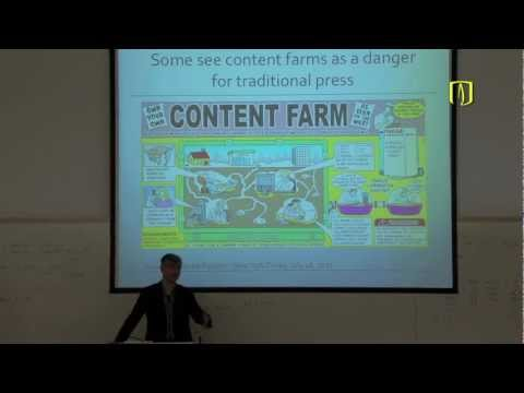 Uniandes - Journalism 2.0: Content Farms and Quality Content
