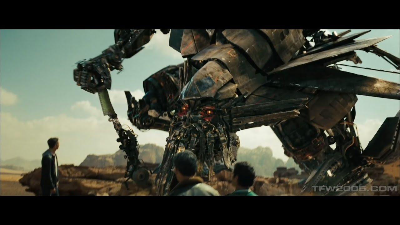 Transformers 2 Jetfire Egypt Scene