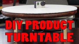 Easy Diy Turntable For Photography & Video Under $60