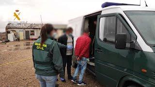 La Guardia Civil desarticula en Zamora una red de trata de seres humanos