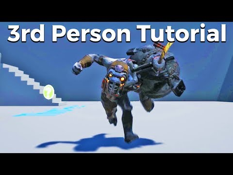 Let's Create A 3rd Person Character With Animations -  Blueprints #14 [Unreal Engine 4 Tutorial]