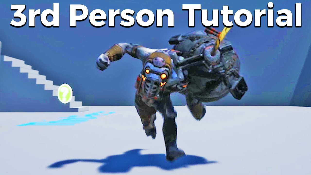 Lets create a 3rd person character with animations blueprints 14 lets create a 3rd person character with animations blueprints 14 unreal engine 4 tutorial malvernweather Images