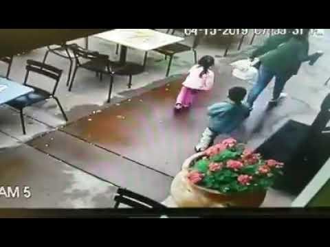 CRAZY ACCIDENT - Family Dodges Danger in Napa Car Crash