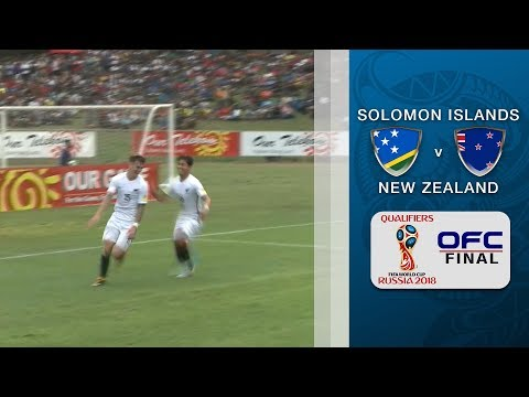 Solomon Islands v New Zealand | 2018 FIFA WORLD CUP QUALIFIER - OFC Stage 3 Final Leg 2