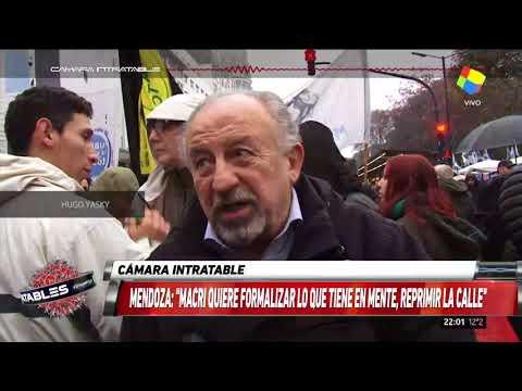 Marcha contra la reforma de las Fuerzas Armadas