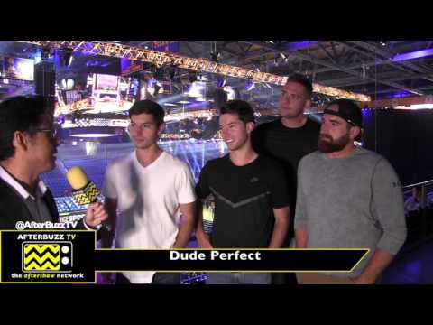 Dude Perfect at the Nickelodeon Kids' Choice Sports 2017