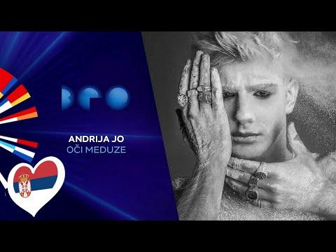 Andrija Jo - O�i meduze / Beovizija 2020