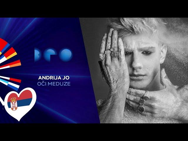 Andrija Jo - Oči Meduze / Beovizija 2020