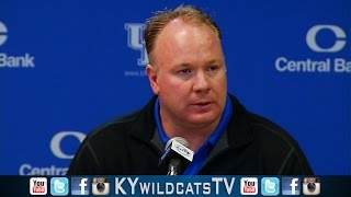 Kentucky Wildcats TV: Mark Stoops Pre-Mississippi State