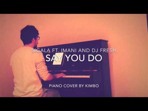 Sigala ft. Imani and DJ Fresh - Say You Do (Piano Cover)