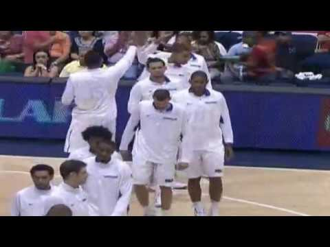 "RD 80 - PUR 72 - Medalla de Oro // Centrobasket 2012 - ""Oro RD"" Mas Bueno que es Asi !!"