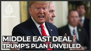 This is what Donald Trump's Middle East plan looks like