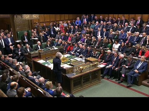 شاهد: بريطانيون فرحون بعد رفض البرلمان اتفاق -بريكست-  - نشر قبل 56 دقيقة