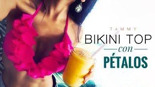 Como Hacer un Bikini Top con Pétalos | DIY