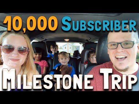 10,000 Subscriber Milestone Trip (Day 1): Panama City Beach, Florida (February 23, 2018)