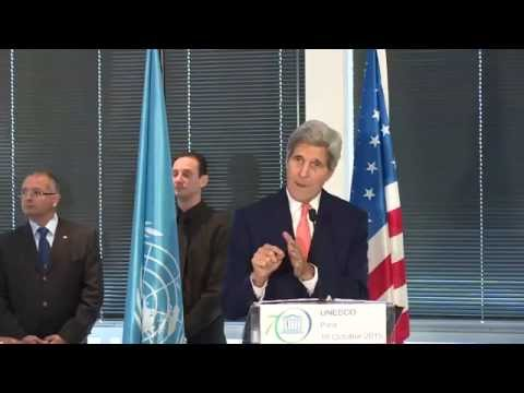 Secretary Kerry's Remarks at UNESCO Luncheon