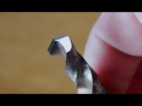How to Sharpen a Drill Bit Quickly and Easily