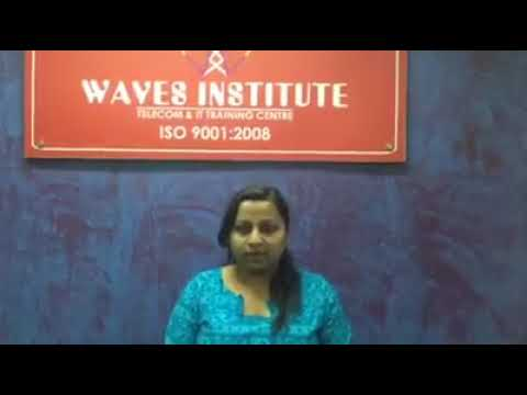 Waves Institute Pune  Telecom Training   Placed Student 5