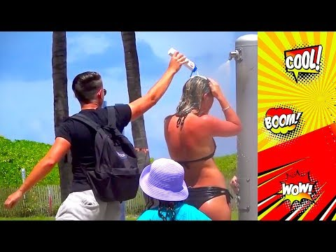Shower prank | Prank videos funny | Shampoo prank compilation