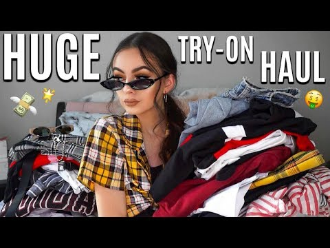 BIGGEST TRY-ON HAUL!   Missguided, Princess Polly, PrettyLittleThing + More!