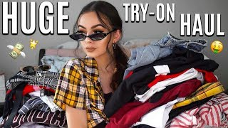 BIGGEST TRY-ON HAUL! | Missguided, Princess Polly, PrettyLittleThing + More!
