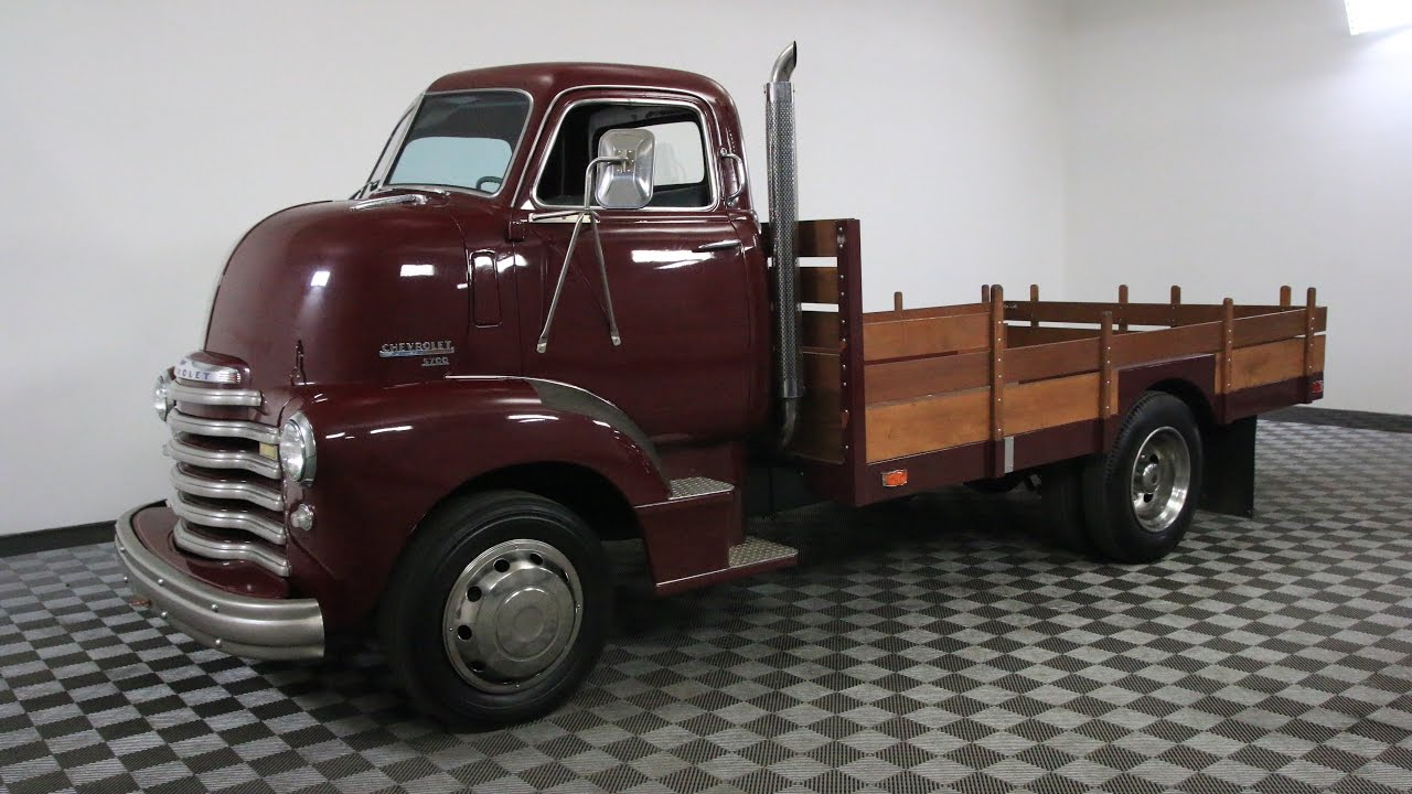 1940 Chevy Truck >> 1950 CHEVROLET COE - YouTube