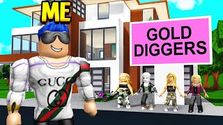 I Met A Gold Digger es FAMILY And I Discovered Their EVIL PLAN.. (Roblox)