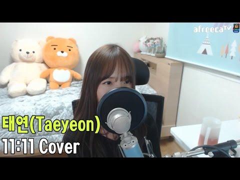 태연(TAEYEON) - 11:11 COVER By 새송