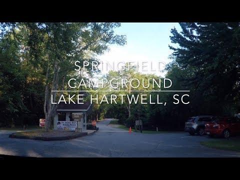 Springfield Campground -  Lake Hartwell, SC - C.O.E.
