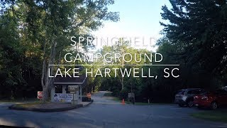 Springfield Campground -  Lake Hartwell, SC - C.O.E.