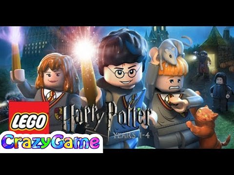LEGO Harry Potter Years 1.4 Full Game Movie. LEGO Movie Cartoon for Children & Kids