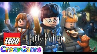 #LEGO Harry Potter Years 1-4 Full Game Movie - LEGO Movie Cartoon for Children & Kids