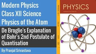 Modern Physics Class 12 Science - Physics of the Atom - Bohr's 2nd Postulate of Quantisation