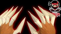 How to make: Paper Claws (EASY) Origami (hobby)
