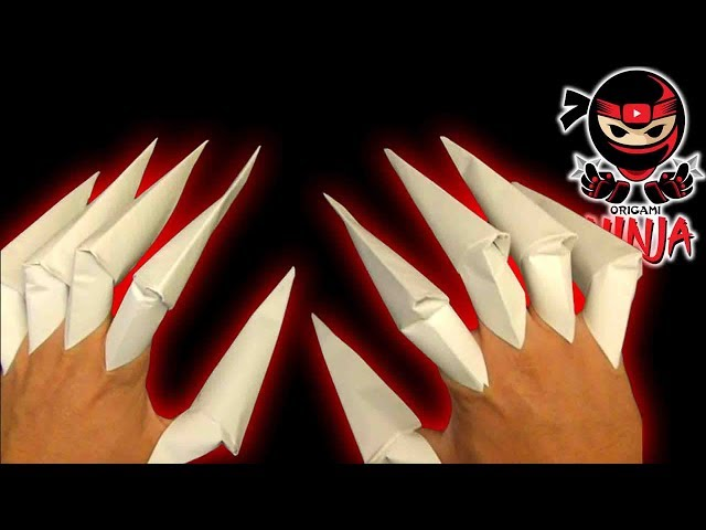 3 Ways To Make Origami Paper Claws
