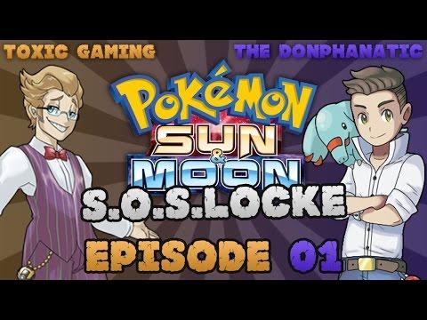 Pokemon Sun & Moon S.O.S.-Locke EP01 w/ THE Donphanatic!